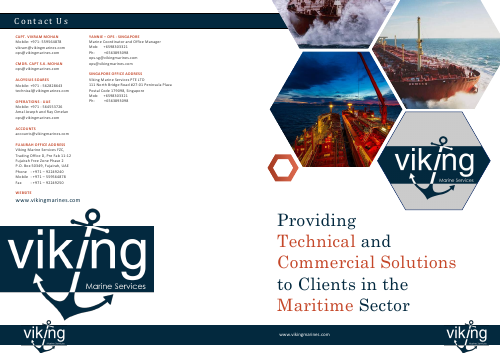 Brochure - Viking Marine Services